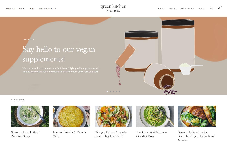 Grace and Green - Green Kitchen Stories screenshot