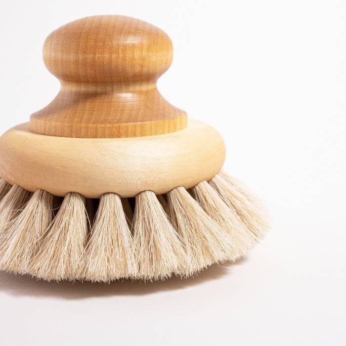 Grace and Green - Iris Hantverk - Bath Brush with Knob 3