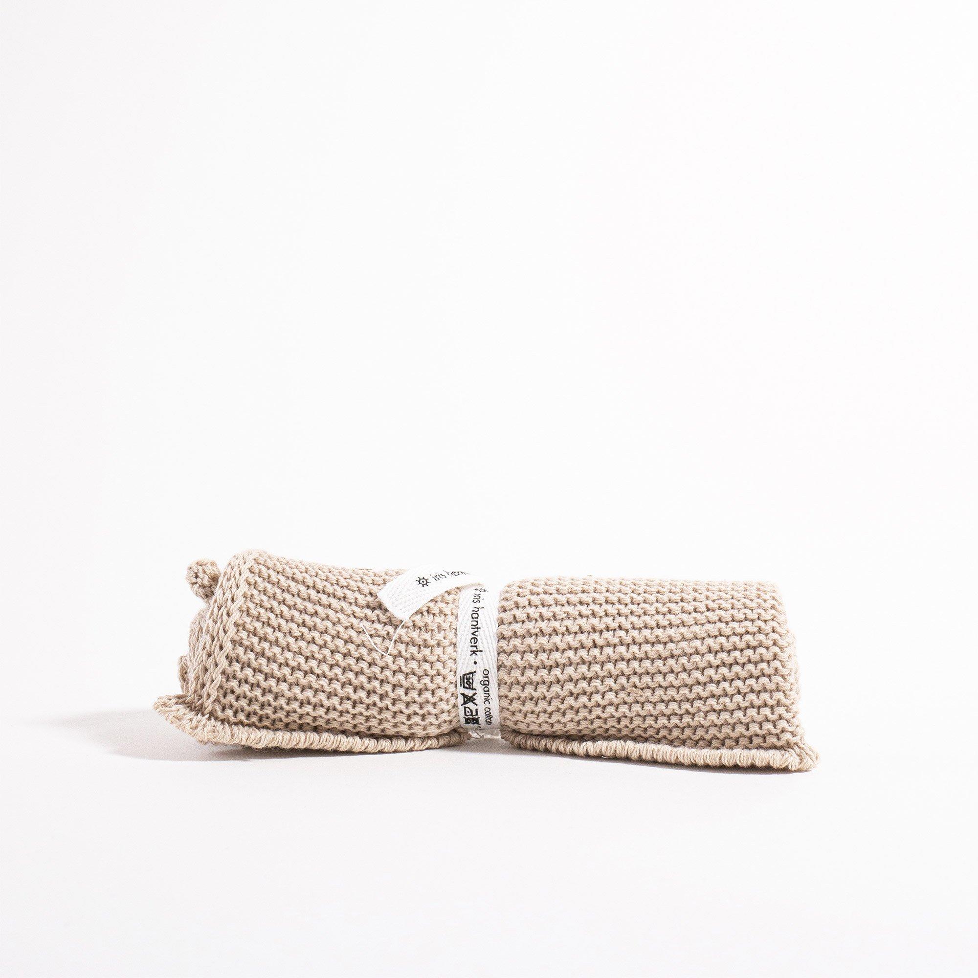 Grace and Green - Iris Hantverk - Washcloth - Natural 1
