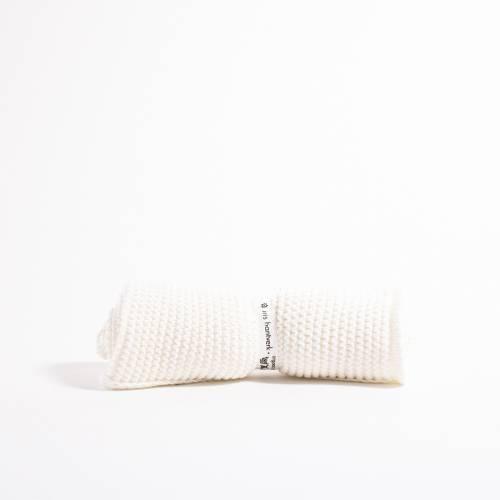 Grace and Green - Iris Hantverk - Washcloth - White 1