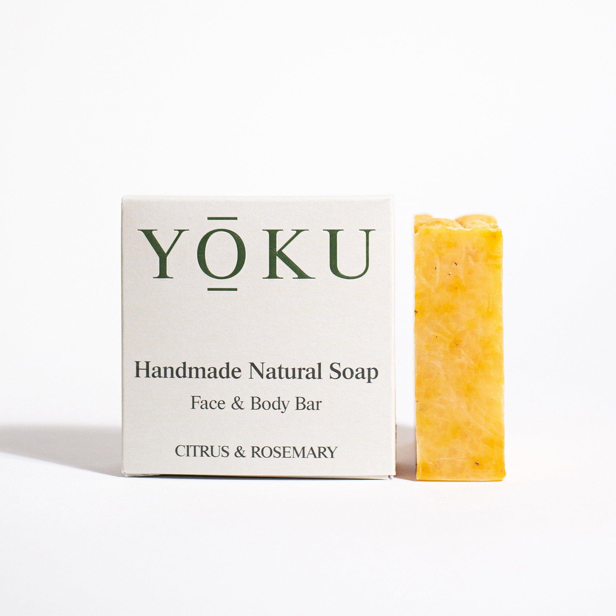 Grace and Green - YOKU soap - Citrus & Rosemary 1