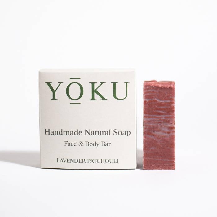 Grace and Green - YOKU soap - Lavender & Patchouli 1