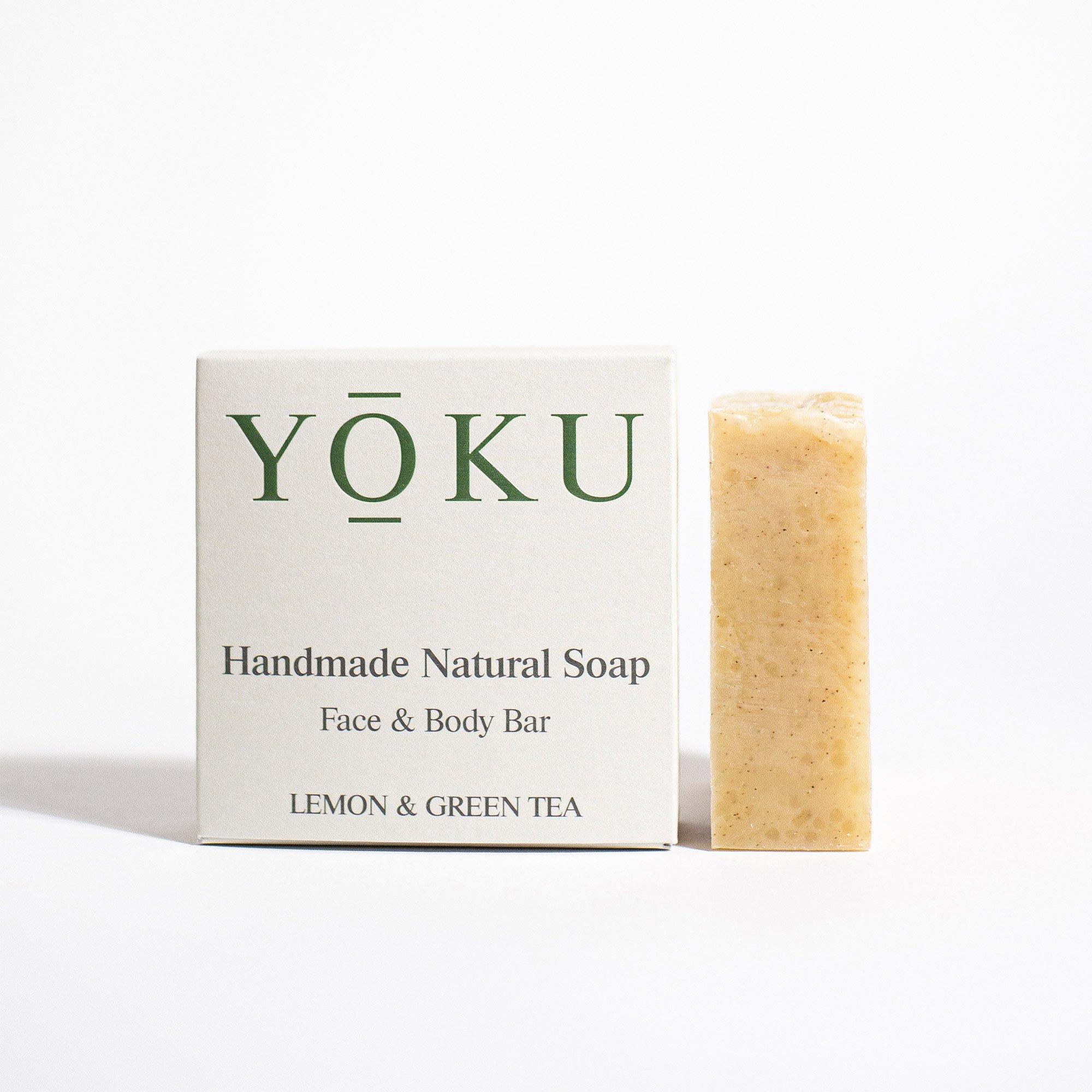 Grace and Green - YOKU soap - Lemon & Green Tea 1