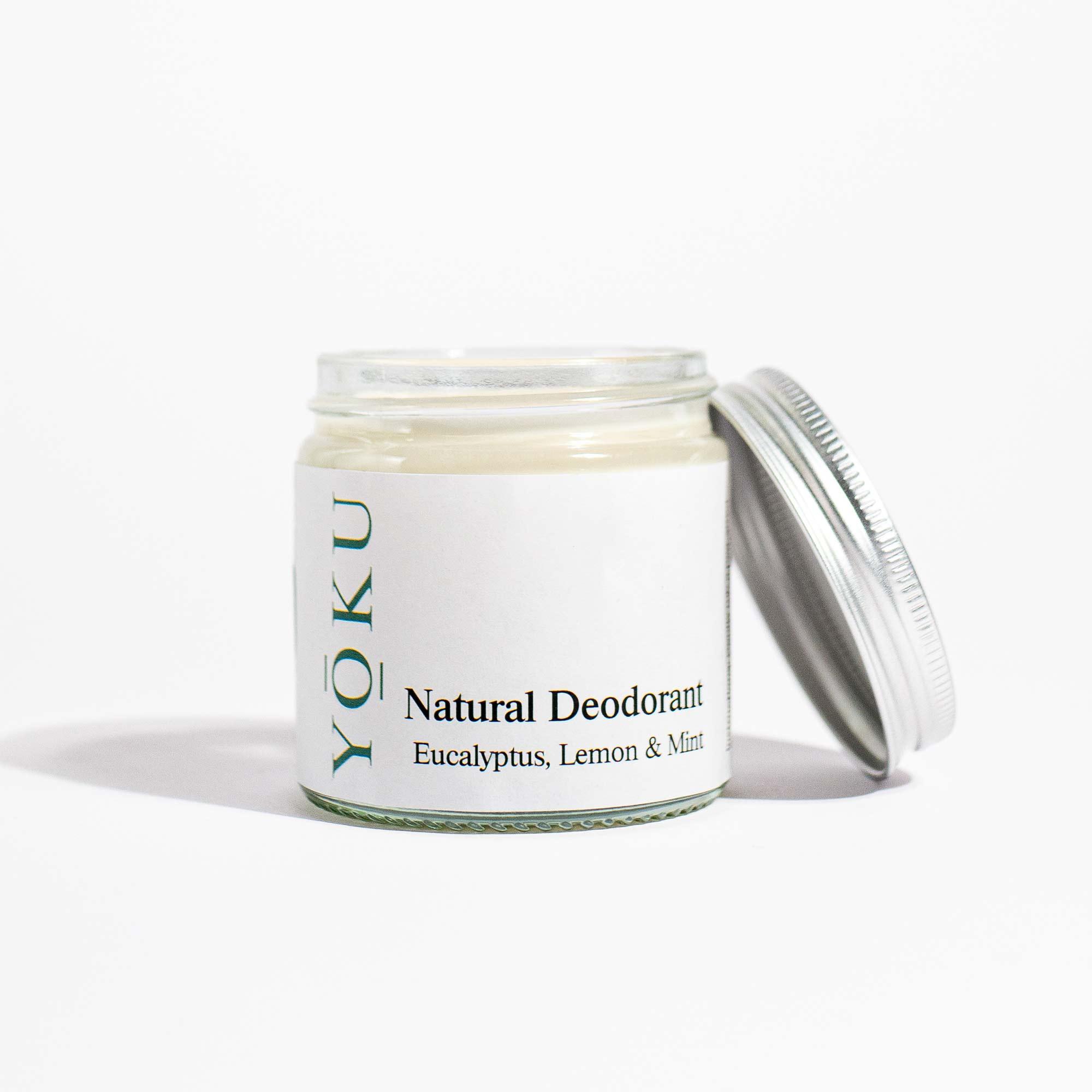 YOKU Natural Deodorants - Eucalyptus, Lemon & Mint 1